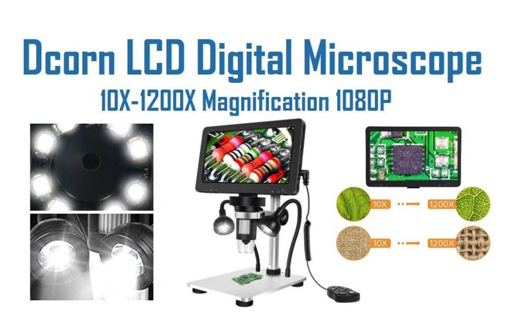 Dcorn Handheld USB Digital Microscope - 1200X Magnification