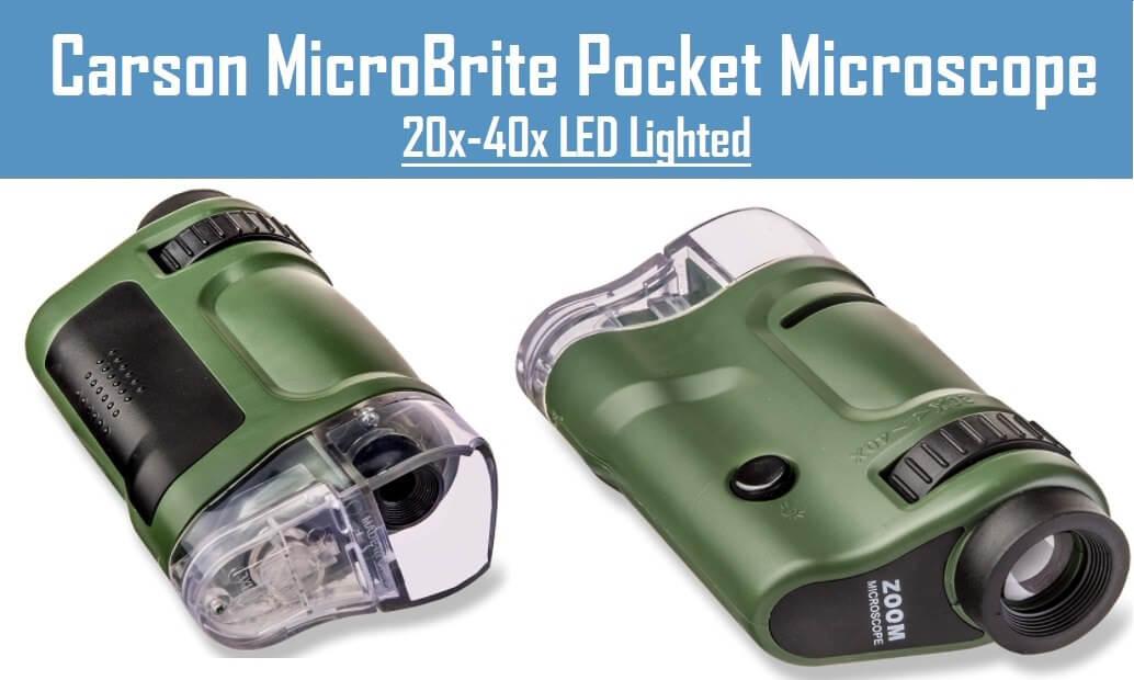 Carson Microbrite pocket microscope 20x-40x