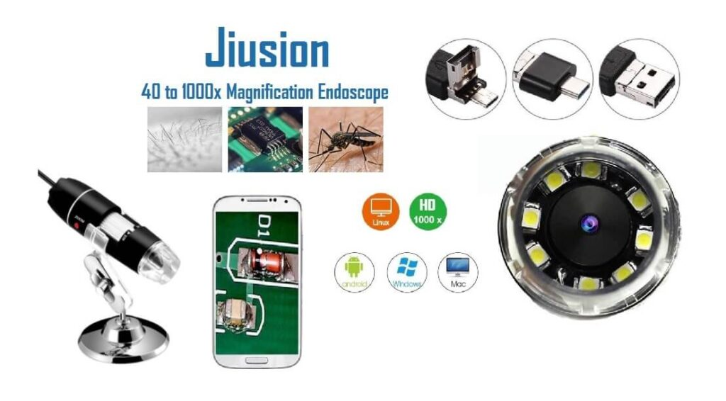Juision 40 to 1000x Magznification Endoscope